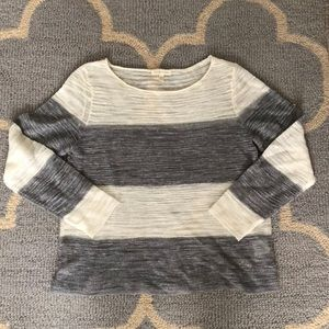 EILEEN FISHER size car sheer sweater top